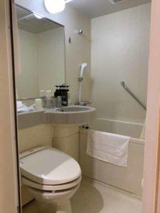 ホテル法華クラブ福岡 トイレ