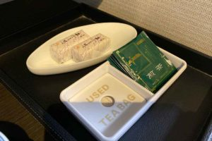 ホテル一畑 お茶とお菓子