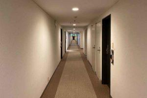 ホテル一畑 廊下